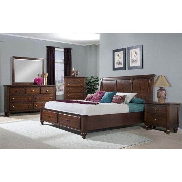 set kamar tidur model klasik simple