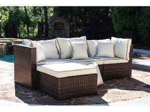 Sofa Rotan Sintetis Outdoor