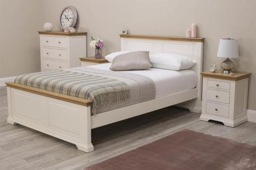 Tempat Tidur Minimalis Duco Putih