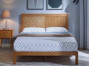 Tempat Tidur Simple Kayu Jati
