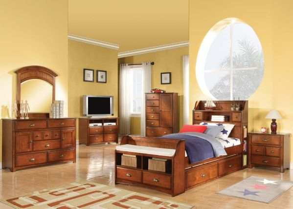 Set Kamar Tidur Anak Klasik