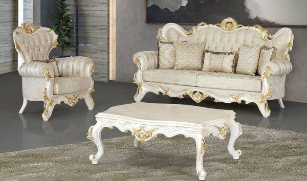Set Kursi Sofa Tamu Mewah Platinum