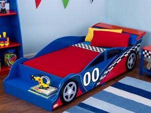 Tempat Tidur Mobil, Ranjang Anak Karakter Mobil Sport