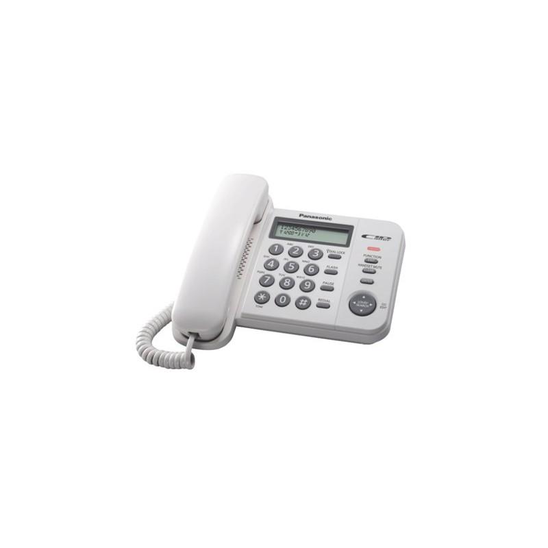 [來電/LCD顯示]電話-黑/白色(KXTS560MX) - Asiagas