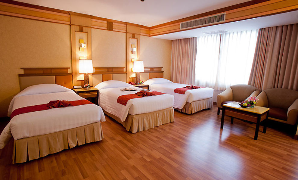 Asia Airport Hotel : Triple Room