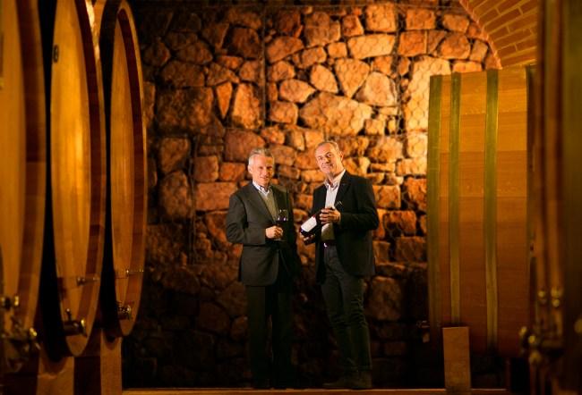 Riccardo Illy and Andrea Machetti - Mastrojanni Winery