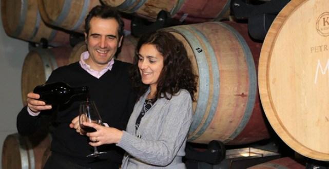 Piero Cella and Luciana Baso