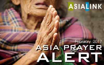 Monthly Prayer Alert – February 2017