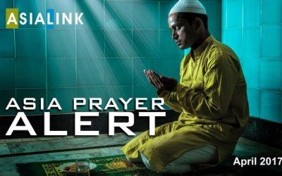 Monthly Prayer Alerts – April 2017