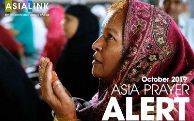 Monthly Prayer Alerts – October 2019