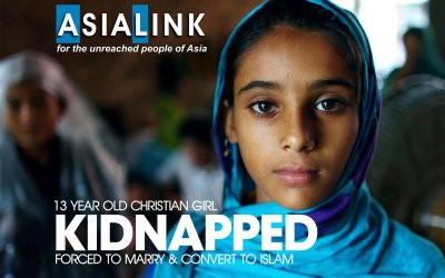 [URGENT] 13-Year-Old Christian Girl Kidnapped, Forced to Marry and Convert to Islam