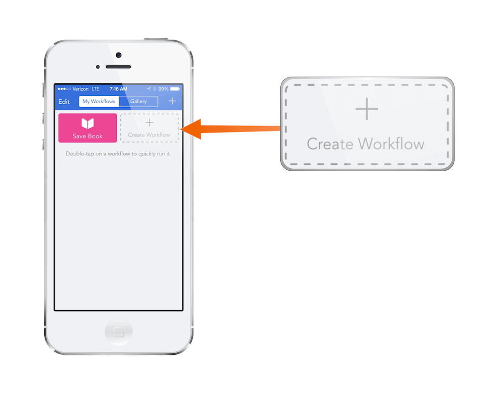 Step 1: Create a new workflow