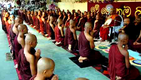 Image result for Sri Lanka, Buddhists, photos