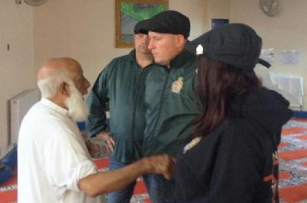 Asian Image: Britain First group stoops to new low by badgering old man at mosque