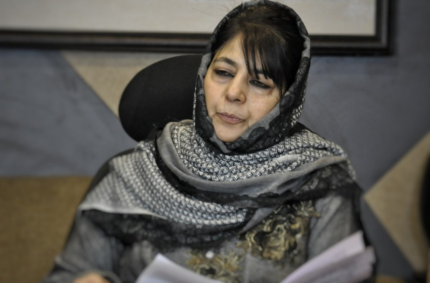 Mehbooba Mufti spent 82 lakhs on bedsheets, furniture during 06 months tenure