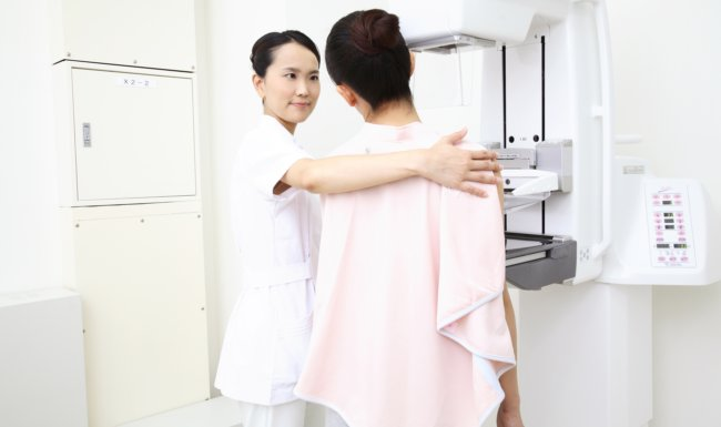 Ultrasounds Improve Breast Cancer Detection Rates Asian