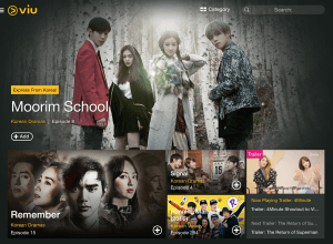 Viu on tablet