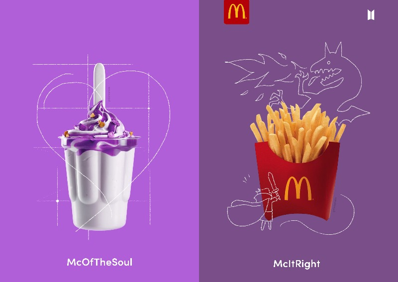 What's real and what's fake? Fans go viral over super realistic mock-ups of  McDonald's & BTS collab, Lifestyle News - AsiaOne
