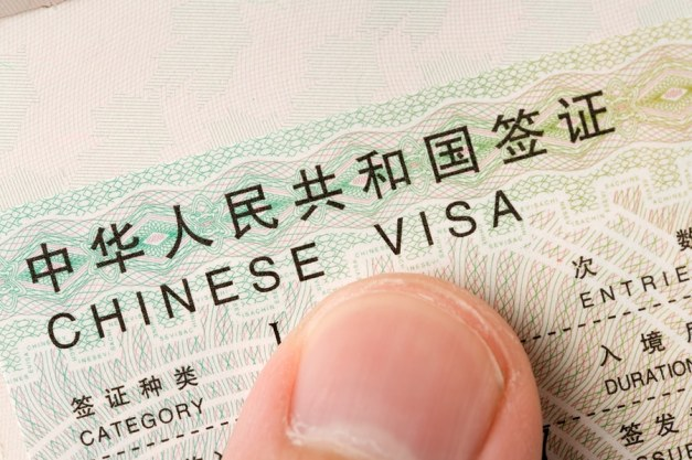 China visa regulations