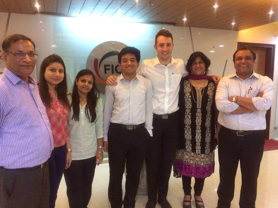 Intern in India with Federation of Indian Chambers of Commerce and Industry (FICCI) – Interview with John Richardson