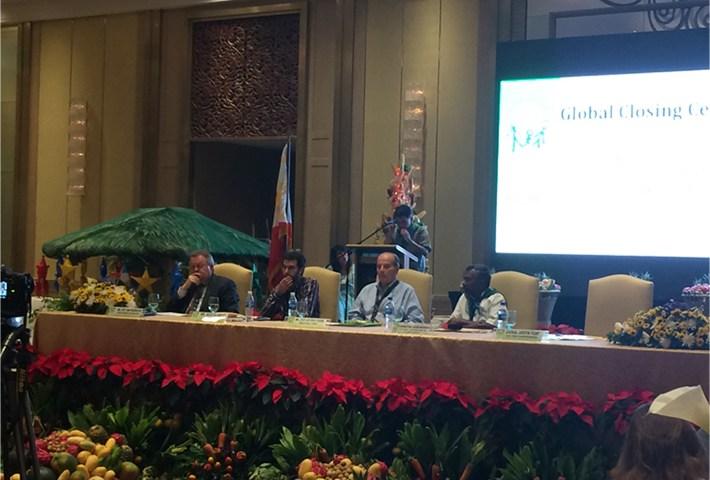 final speech of La Via Campesina-IYFF closing ceremony Manila