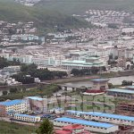 (REFERENCE PHOTO) Hyesan City, Ryanggang Province lies above the Amrok-gang(Yalu River). The border town is known as a junction for smuggling and defection. The photo was taken from Chinese side in June. 2010. ASIAPRESS