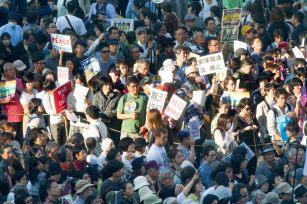 Peace Protest in Tokyo photo Akinori 9