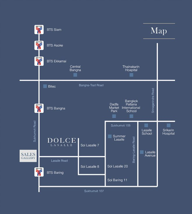 DOLCE LASALLE: A Thailand Property Between BTS and MRT Station
