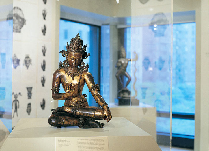 Galleries in the Asia Society and Museum, Park Ave at 70th Street