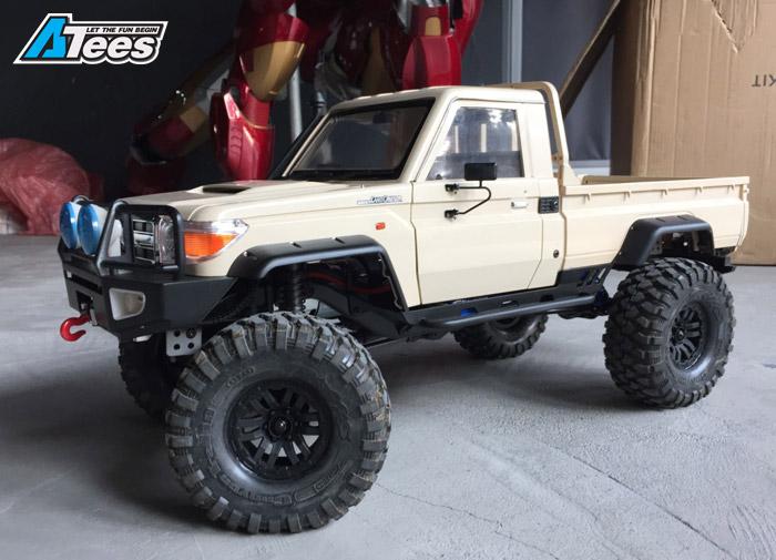 Traxxas TRX4 W Killerbody Toyota Land Crusier LC70