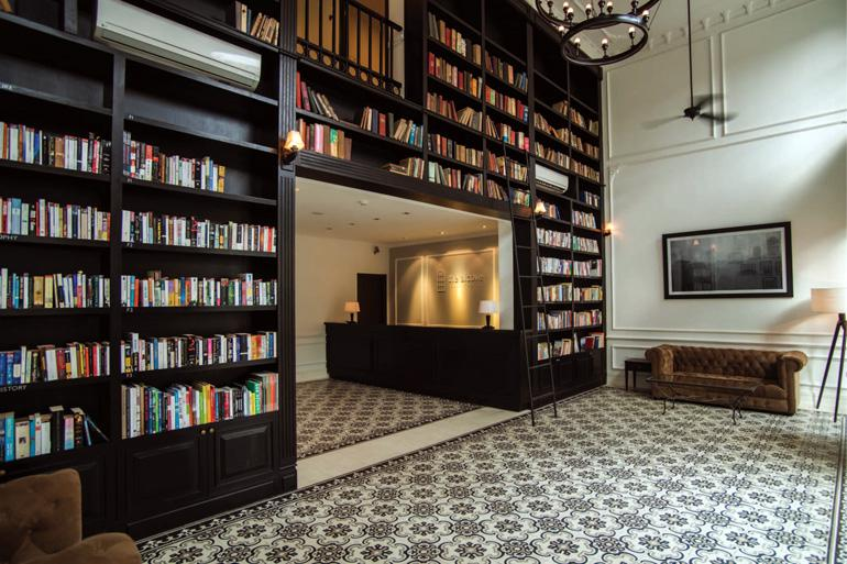 The Alcove Library Hotel
