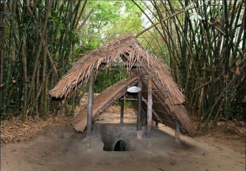 Cu Chi Tunnels, explore underground ruins