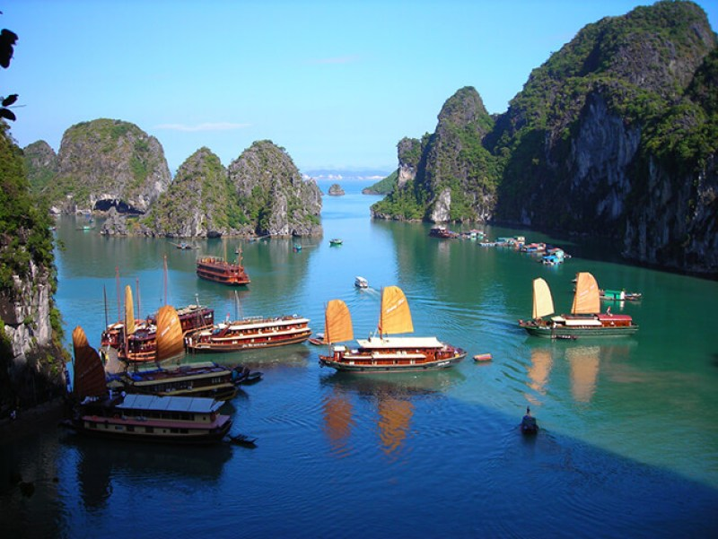 Halong Bay leads the list of top destinations in Vietnam 2018