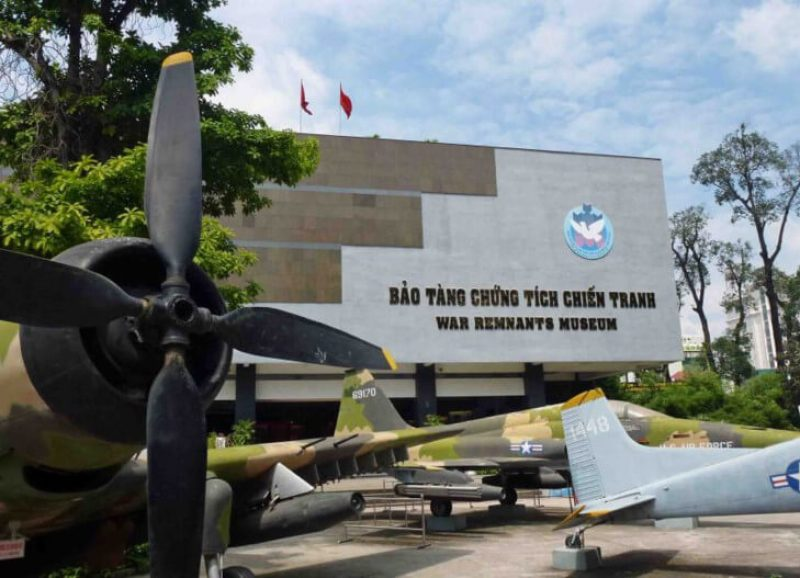 Hue War Remnants Museum is a meaningful place to visit