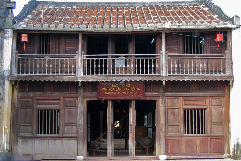 The Museum of Folk Culture is many people's favorite Hoi An museum choice