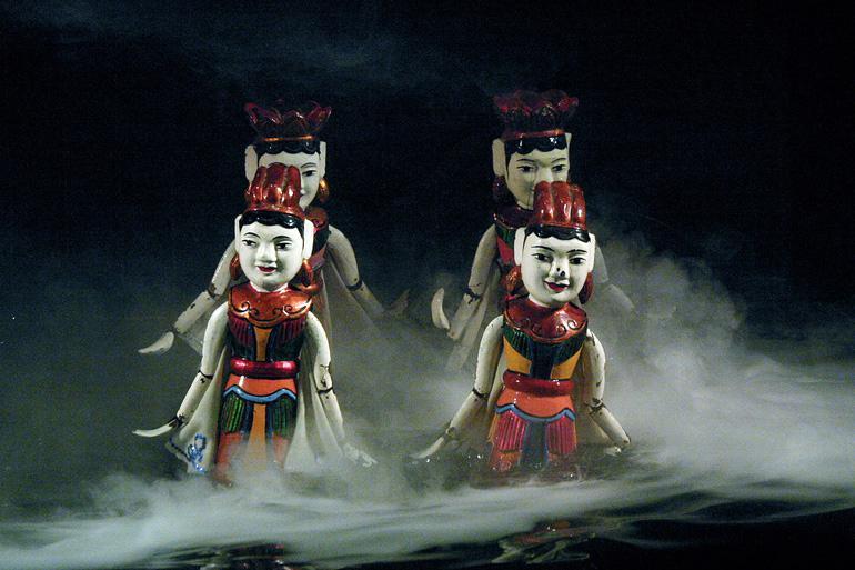 Vietnamese Water Puppets – A beautiful craft