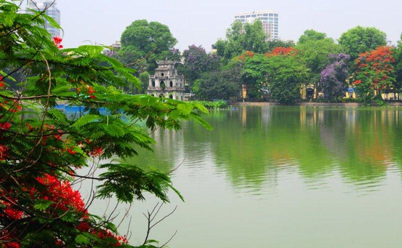 Hoan Kiem Lake Hanoi, Thang Long's historical witness