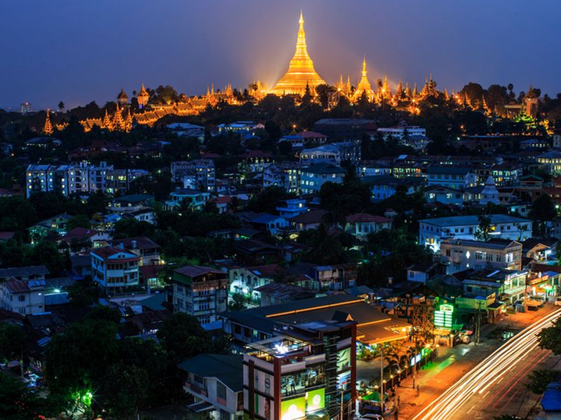 A Generic view of Shwedagon Pagoda, Yangon. Photo by Athit Perawongmetha.