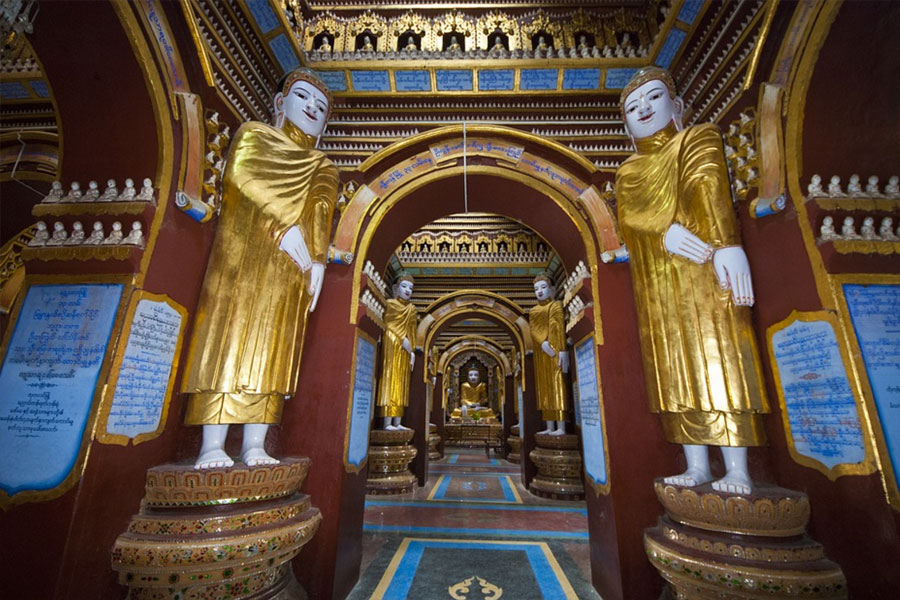 Visit the ancient temple of Taungoo
