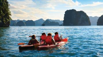 Top 5 popular things to do in Halong Bay