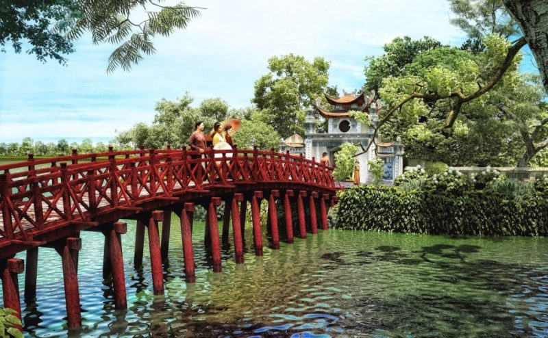 From August to October is the best time to visit Hanoi
