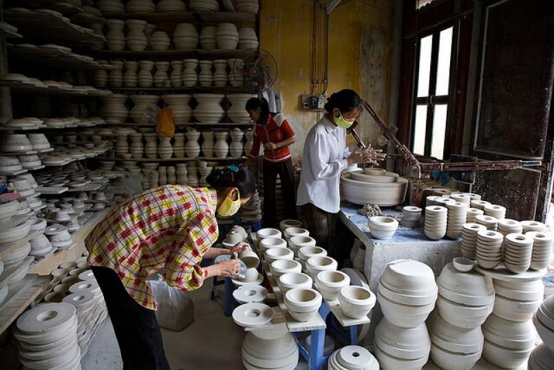 Bat Trang ceramics, pride for Vietnamese people