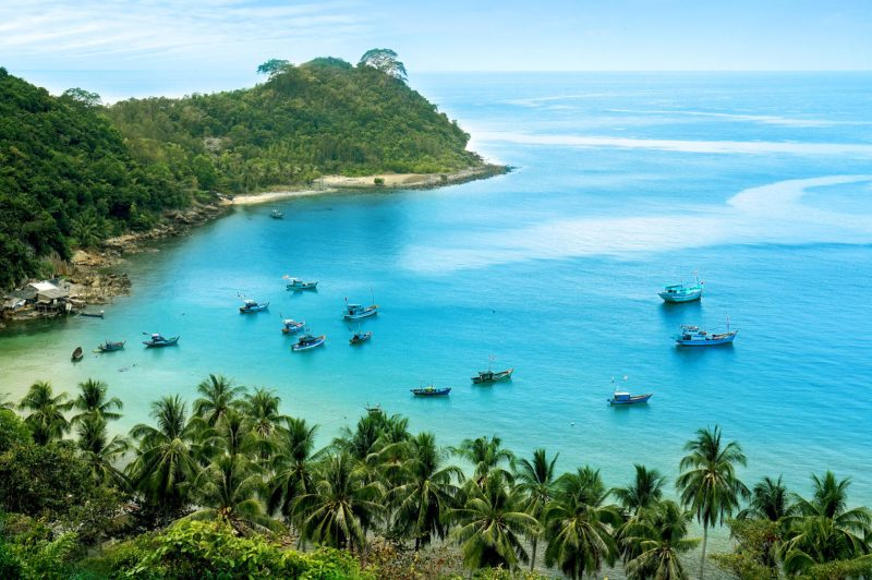 Maldives of Vietnam - Nam Du island