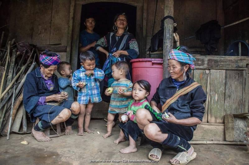 Ethnic Hmong - Lao Chai village Sapa Vietnam
