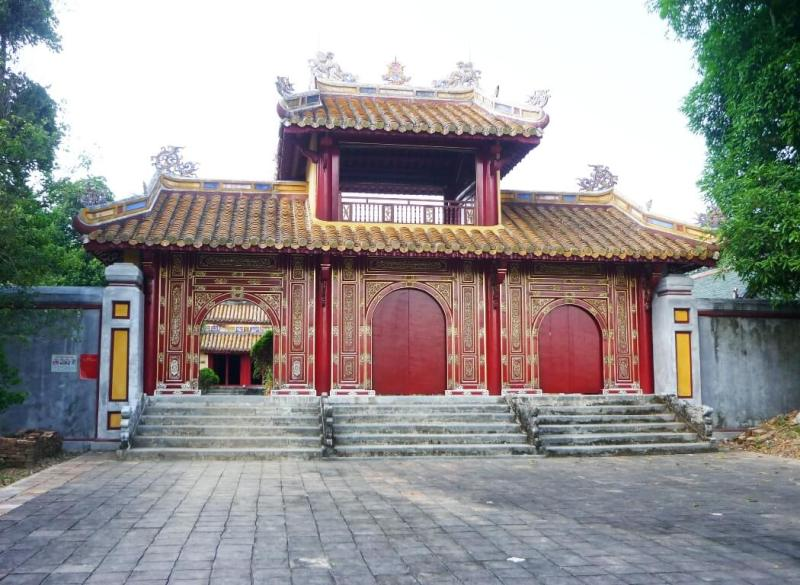 King Gia Long mausoleum - the farthest tomb of Hue