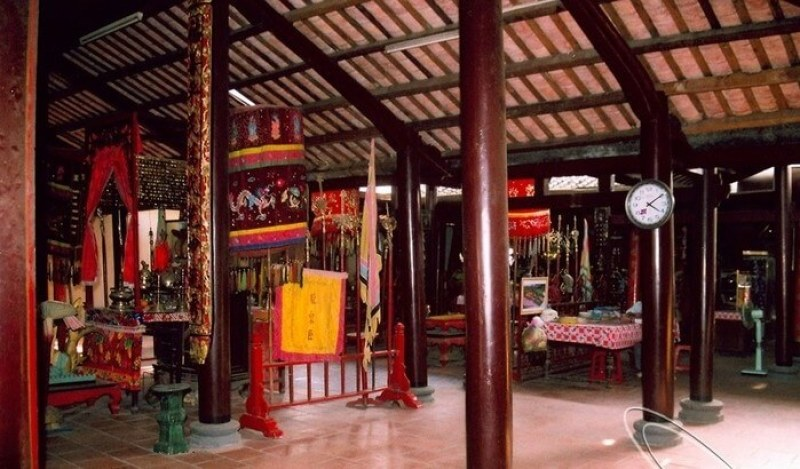 Long Tuyen ancient temple - the beauty of human spirituality of Can Tho