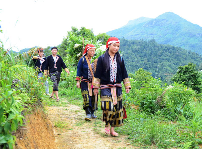 Sapa tourism explores the beauty of Ta Phin village and Red Dao people
