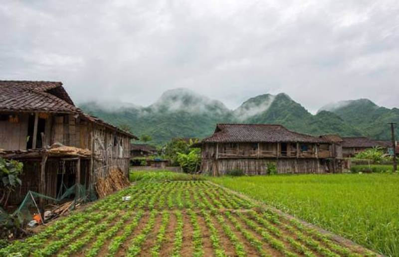 Stilt houses in Quynh Son Cultural Village Bac Son Lang Son