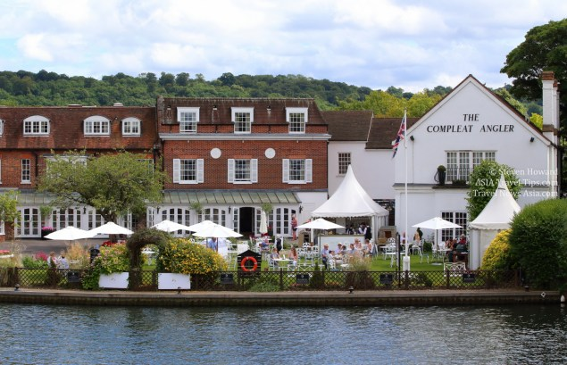 The Compleat Angler luxury hotel in Marlow, England