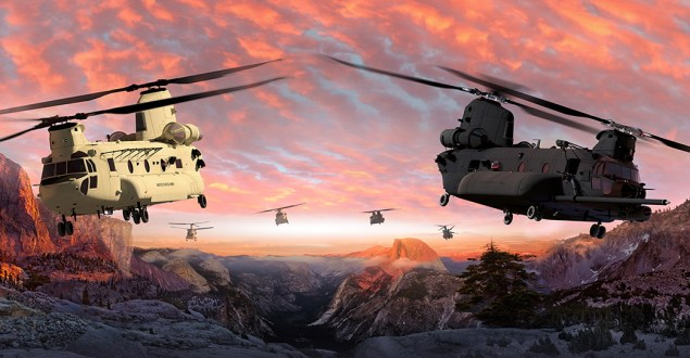 Boeing is to build and test three U.S. Army CH-47F Block II Chinook helicopters as part of a modernization effort that will likely bring another two decades of work to the company's Philadelphia site